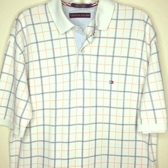 938dddf4 Tommy Hilfiger Shirts | Vintage Plaid Polo Shirt | Poshmark